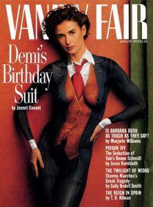 Annie Leibovitz Demi Moore Vanity Fair