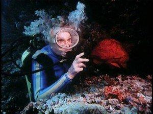 Leni Reifenstahl riprese subacquee