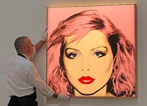 Debbie Harry e Andy Warhol