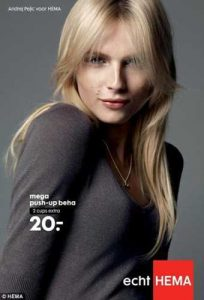 Andrej Pejic Push Up