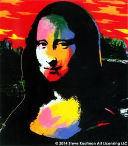 Mona Lisa Sunset - Steve Kaufman