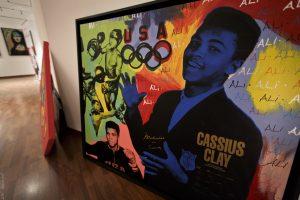 Steve Kaufman Cassius Clay