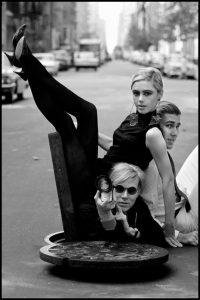 Andy Warhol Edie Sedgwick - Burt Glinn