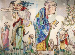 takashi-murakami-painting-china-palazzo-reale-francesco-bonami-labrouge