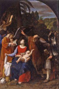 Carlo Saraceni, 'Riposo nella fuga in Egitto' ( 1611-1612 _ Monteporzio Catone, Sacro Eremo Tuscolano)