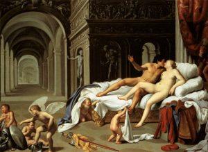 Carlo Saraceni, Venere e Marte, Madrid, Carmen Thyssen-Bornemisza Collection