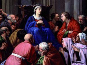 Carlo Saraceni, 'Morte della Vergine ( Venezia, Gallerie dell'Accademia)