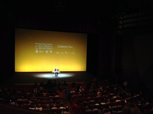 Umberto Eco; Teatro Verdi di Pordenone.