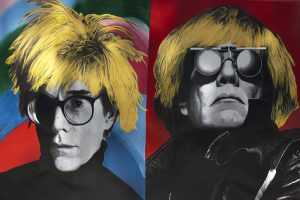 Steve Kaufman - Warhol then and Now