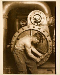 Lewis Hine Powerhouse Mechanic