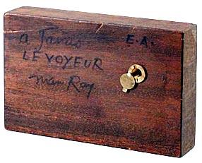 Man Ray - Le voyeur 1975