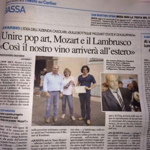 Roberto Casolari con Diana Vachier e Alberto Panizzoli - American Pop Art