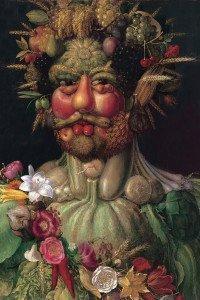 Arcimboldi - ritratto di Rodolfo II