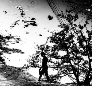 Sandip Bose - Life in a puddle -Kolkata