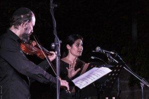 Delilah Gutman e Rephael Negri - ITalYA al festival Erev Laila di Trieste