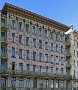 Majolika Haus - Otto Wagner