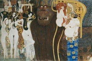 Fregio di Beethoven di Klimt