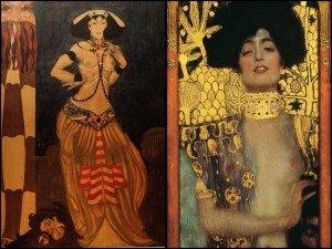 Salomé Timmel e Giuditta Klimt