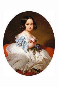 Franz Xaver Winterhalter_La principessa Carlotta del Belgio nel 1842