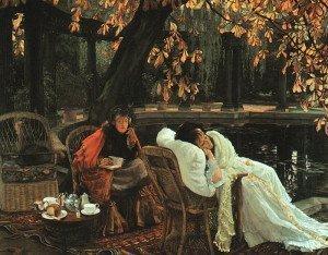 Una convalescente 1876 Tissot