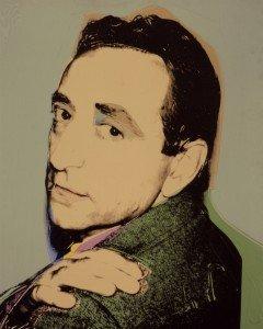 Andy Warhol, Lucio Amelio, 1975. Courtesy Collezione Privata, Napoli.