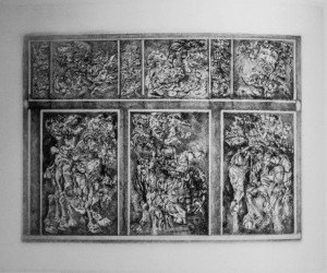 IV parete pompeiana puntasecca 1978 - Scarpati